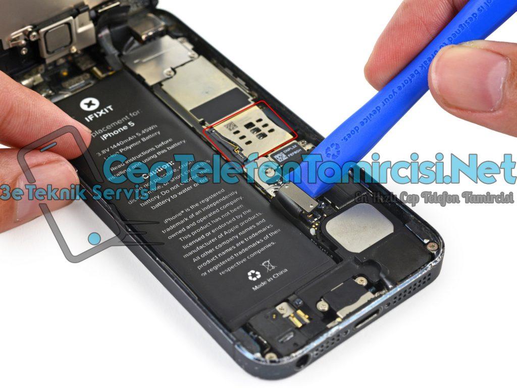 iPhone 5 Sim Yuvası Değişimi