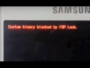 Custom Binary Blocked By FRP hatası