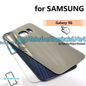 Samsung Galaxy S6 Arka Cam Kapak Değişimi