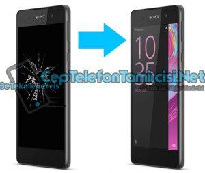 Sony Xperia E5 Ekran Değişimi