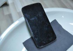 LG Nexus 4 Cam Değişimi