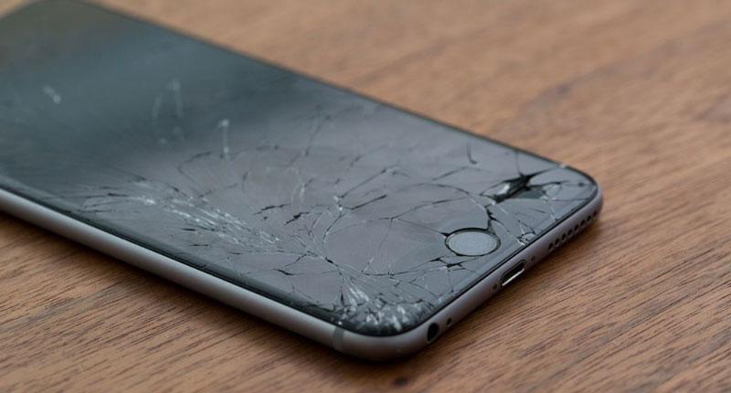 ön camı kırılmış iphone 7 ekranı