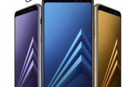 Samsung A8 2018 Cam Değişimi